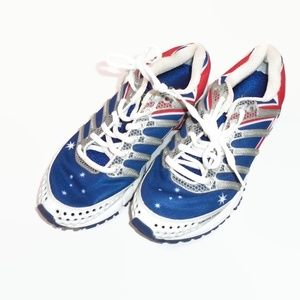 K-Swiss Sneakers United Kingdom UK Flag 8 Rare